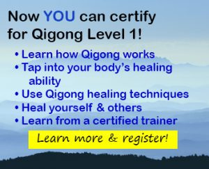 Learn how to heal with Level 1 Qigong