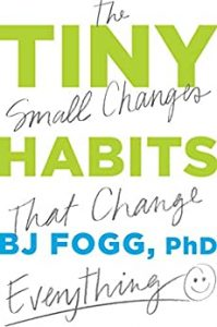 Book Tiny Habits BJ Fogg